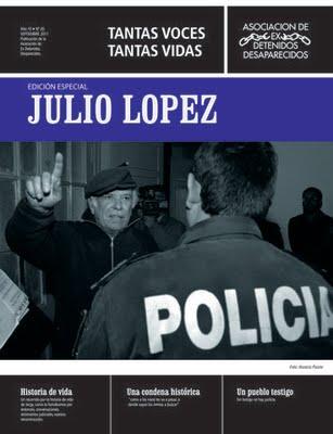 Presentan en La Plata una publicación por los cinco años sin López