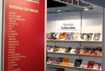 Las revistas culturales en la Feria del Libro