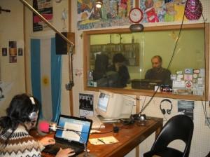 Juan Delú, Rodolfo Secco y otros en la radio - 2010. Foto Pablo Antonini