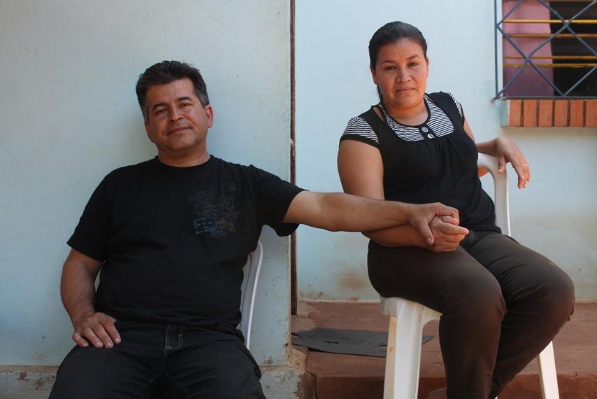 La familia paraguaya arrasada por la inundación