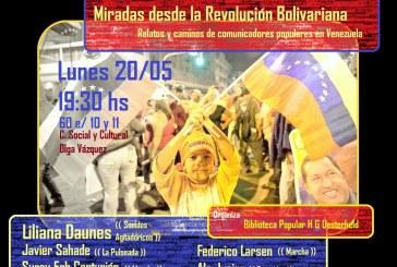 Venezuela sin Chávez: charla con comunicadores populares