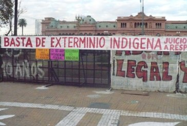 """""""Los pueblos indígenas ya no queremos sobrevivir"""""""