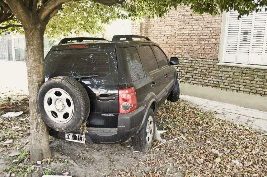 Los autos inundados