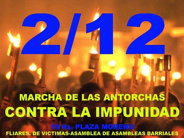 Asambleas y familiares de víctimas de la inundación realizan este lunes su octava marcha por La Plata