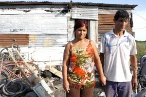 Alejandra y Juan Carlos Larrosa.