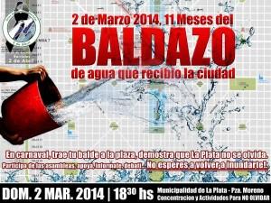 """Domingo 2 de marzo, """"baldazo"""""""