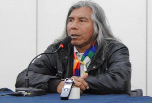 """Félix Díaz: """"La mujer indígena es la fortaleza física y espiritual de nuestra lucha"""""""