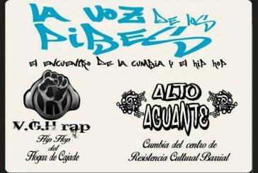 Encuentro de la cumbia y el hip hop en el Favero