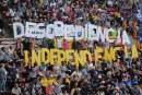 Las dos caras del proceso catalán