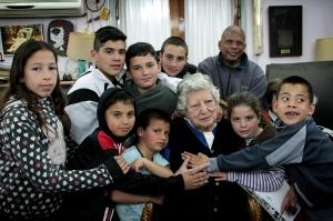 Merienda con la Abuela Chicha
