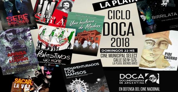 Documentalistas de Argentina y un ciclo para La Plata