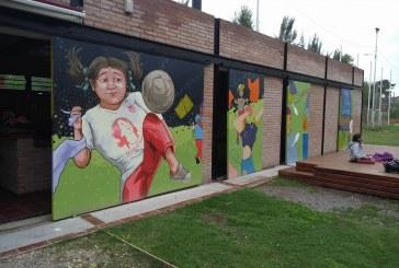 Un mural para recordar a Alberto Morlachetti