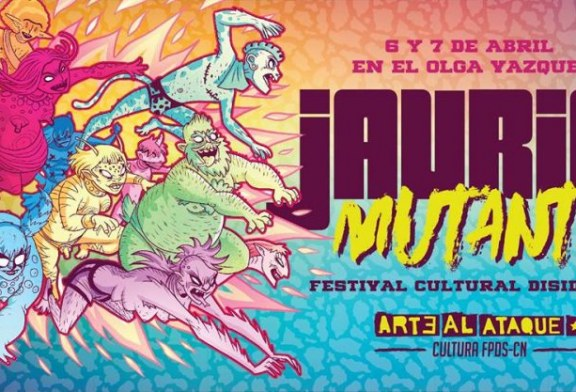 """Festival de cultura disidente """"Jauría mutante"""""""