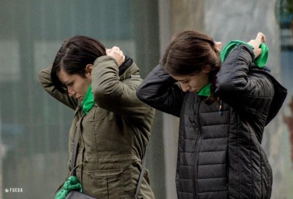 Legalización del aborto: Un mar de fuegos verdes