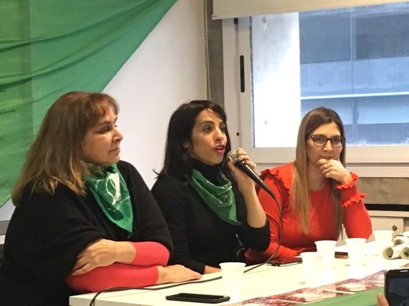 Una reunión plenaria para seguir empujando que el aborto sea ley