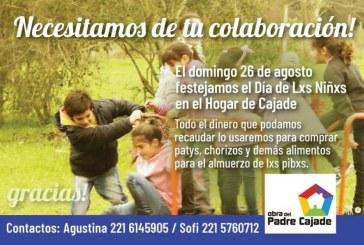 Pedimos colaboración para festejar el día del niño en el hogar