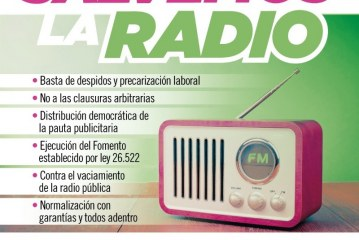 "Convocatoria ""Salvemos la radio"""