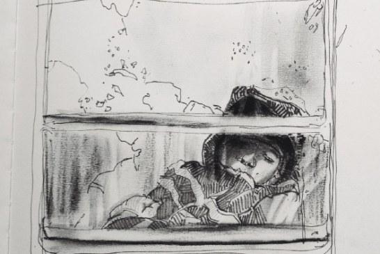 Retratos en el tren