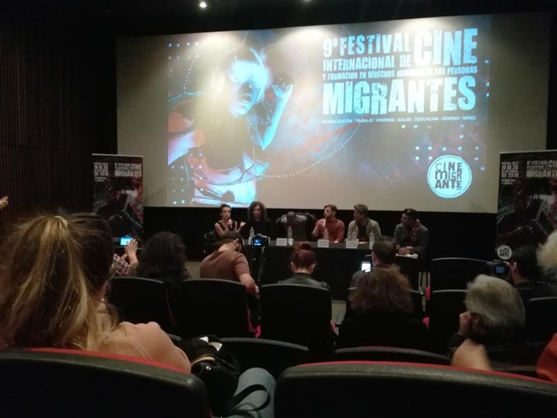 La migración en pantalla