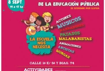 Jornada cultural por infraestructura para las escuelas