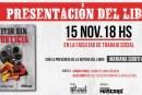 """Se presenta el libro """"Vivir sin Justicia"""", sobre el caso de Omar Cigarán"""