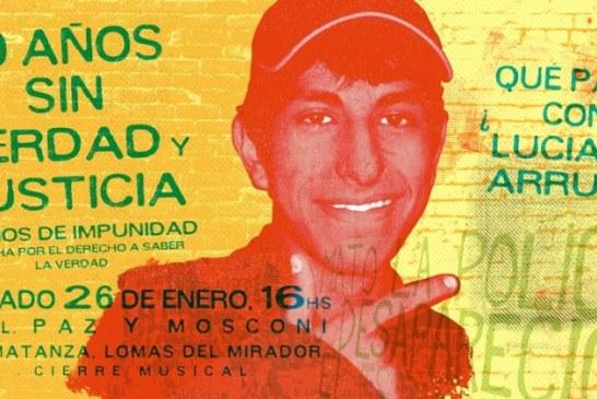 10 años y otra marcha por Luciano Arruga