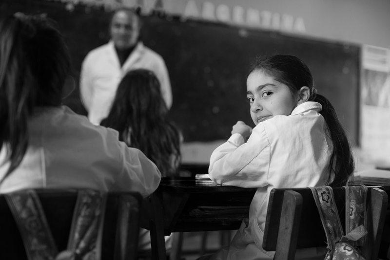 Memoria Escolar presenta una muestra de fotografías sobre la educación rural
