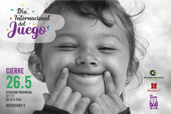 Celebración del Día del Juego con actividades para niñxs y adultxs
