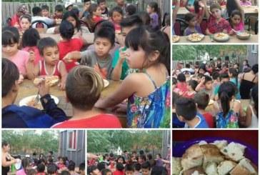 Familias en Melchor Romero piden donaciones para sostener un merendero