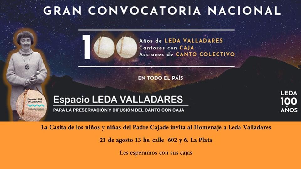 La Casa de los Niños será parte de los homenajes a Leda Valladares