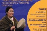 La actriz y narradora mapuche, Soraya Maicoño Guitart, visita La Plata