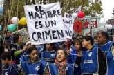 Lxs Chicxs del Pueblo exigen la inmediata declaración de la emergencia alimentaria