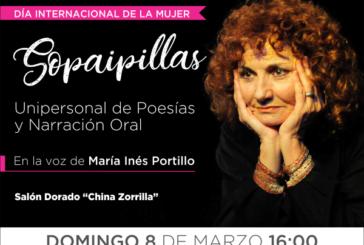 Un espectáculo gratuito para conmemorar el Día Internacional de la Mujer
