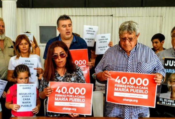 María Pueblo: un ajuste cruel