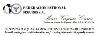 Carrizo – Federación Patronal