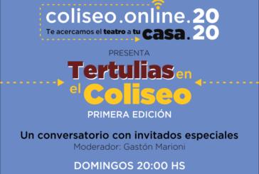 El Coliseo Podestá propone una agenda de tertulias