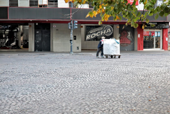 Cartoneros Plaza Rocha 2