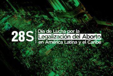 Más de 100 actividades por el derecho al aborto legal
