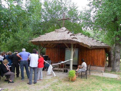 Se reinauguró la capilla de Carlitos
