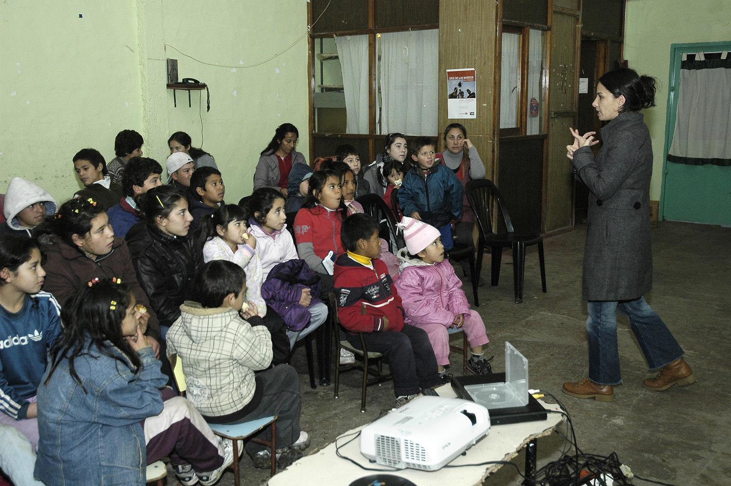 La Pulseada festeja con Cine en Movimiento