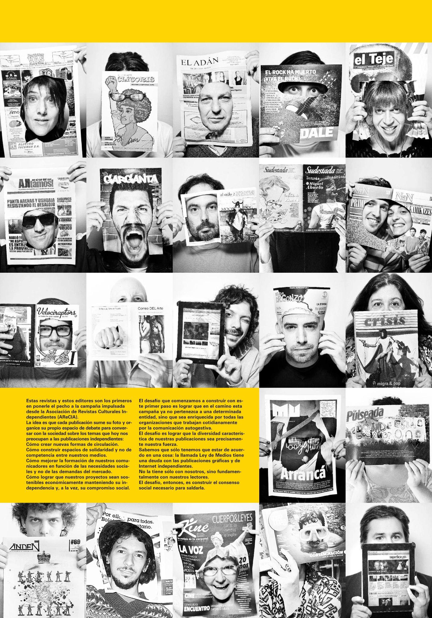 Por la democratización de los medios gráficos