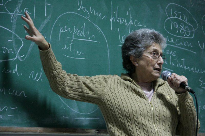 """Ivone Gebara: """"No debemos callarnos"""""""