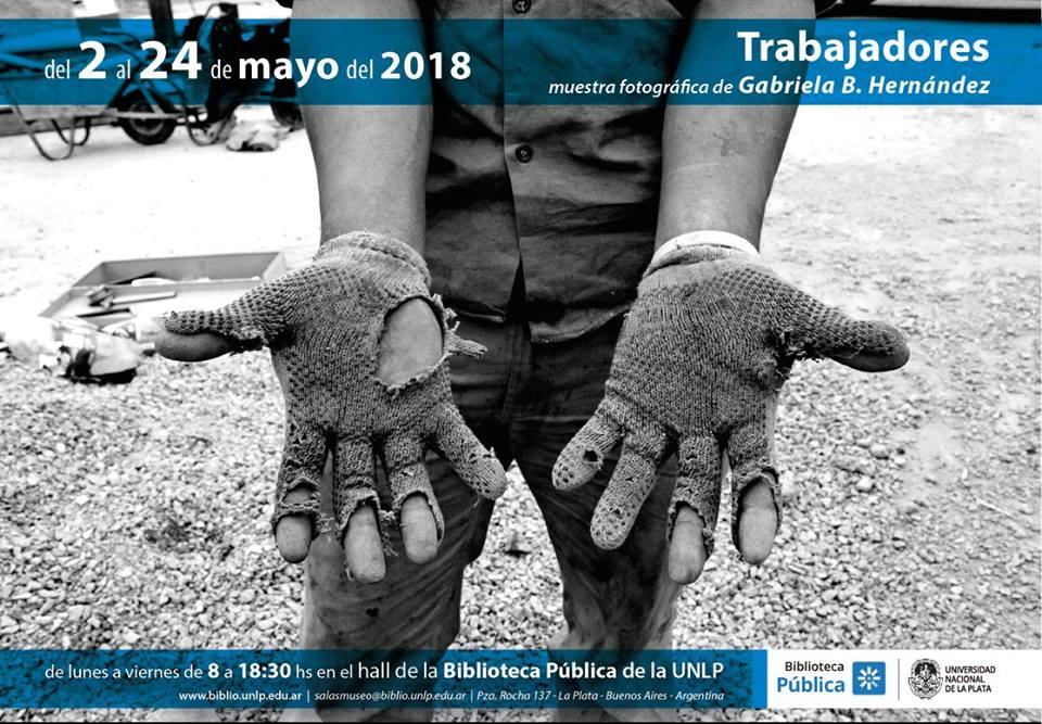 Trabajadores, fotografías para mayo