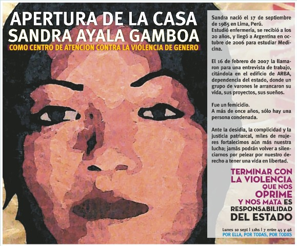 La Casa Sandra Ayala Gamboa abre sus puertas para personas víctimas de violencia de género
