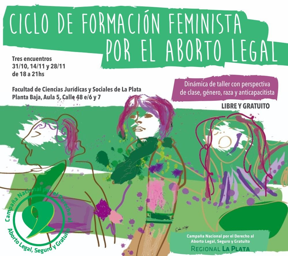 Ciclo de de formación feminista por el aborto legal