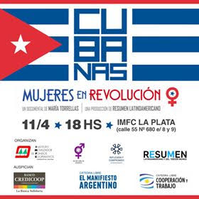 Cine: Cubanas, Mujeres en Revolución