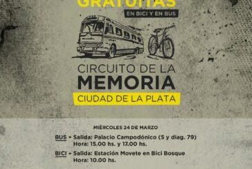 """En La Plata se puede recorrer un """"Circuito de la Memoria"""""""